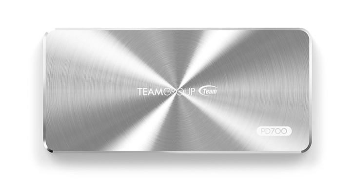 Team 推出 PD700 外接固態硬碟,採用 USB 3.1 Gen 2 Type-C 介面