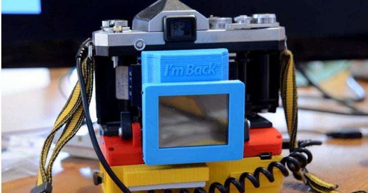 透過這個模組,讓你家的傳統老相機變成數位相機
