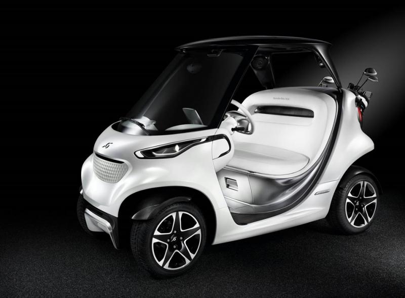 高爾夫球場上的跑車!Mercedes-Benz Style Edition Garia Golf Car