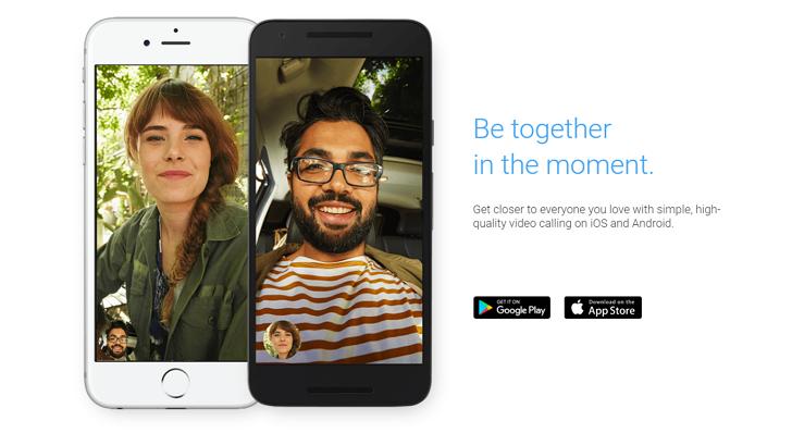 Google正式推出新視訊通話軟體Duo 要跟Facetime搶食市場
