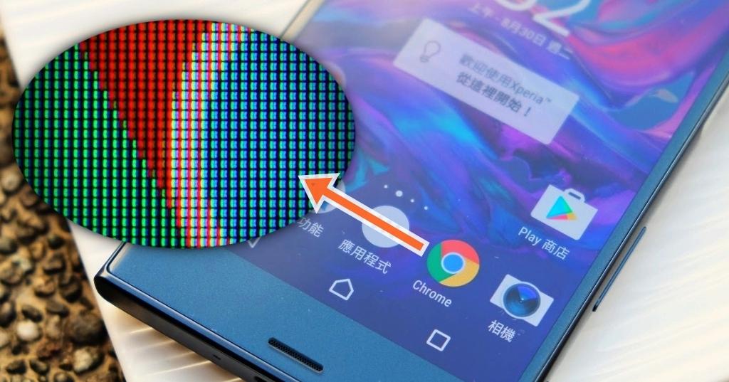 放大 70 倍!微距透視 2016年各大旗艦手機的螢幕細節,分析各種面板的差異