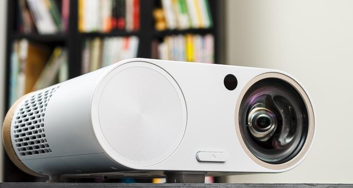 BenQ i500無線追劇投影機,影音雙效合一,畫質優、音色美,戀家首選