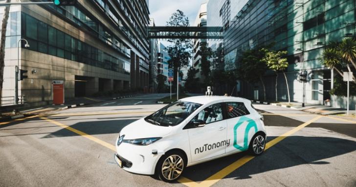 全球第一個無人駕駛計程車在新加坡開始試營運