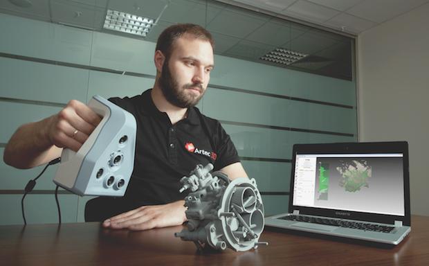 Artec 3D要讓3D掃描完全普及化,未來3D掃描將變成你我生活的一部份