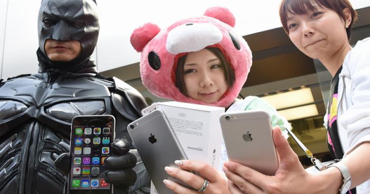 全世界最願意在iPhone手機遊戲上花錢的國家是日本,花的錢超過美國與中國的總和