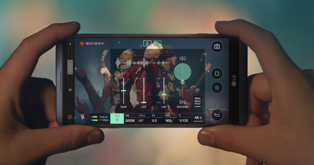 LG V20 正式發表,強打 HiFi Quad DAC 影音效果