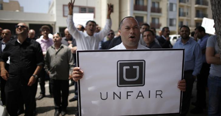 不只外患還有內憂,Uber在美國遭到3.5萬名Uber司機集體訴訟