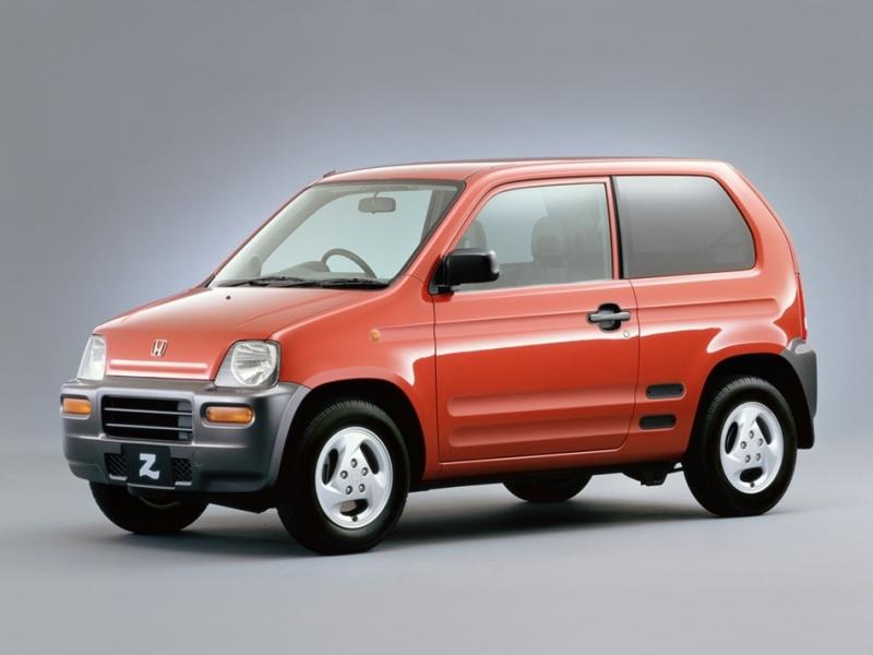回顧舊車史:「生不逢時」的衰車,1998年Honda Z短命三年收場