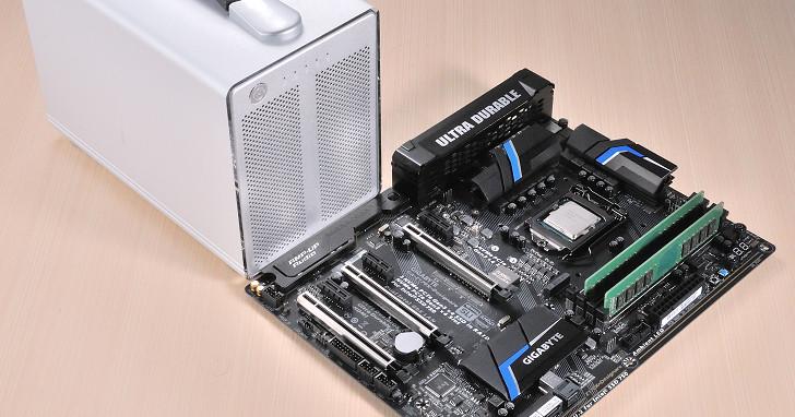 Thunderbolt 3 飆速體驗,GIGABYTE 主機板搭 AKiTiO 硬碟外接盒