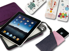 人要衣裝, iPhone、iPad 也要套子裝