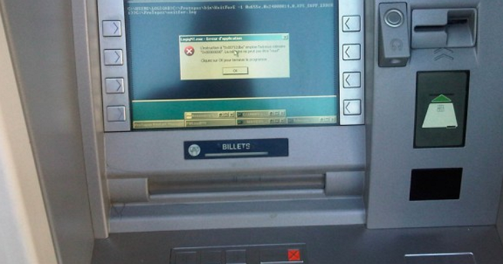 銀行 ATM 使用盜版作業系統?除了版權不合法,安全問題更可怕