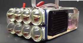 Maker自製超狂水冷式「手電筒」,亮度達72,000流明