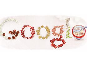 今日 Google 塗鴉:臘八節快樂