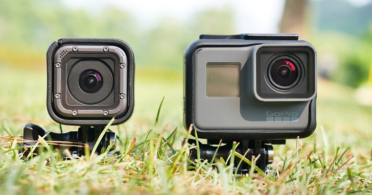 歷代最強GoPro!4K、中文聲控、裸機10M防水:Hero 5 Black/Session 動手玩
