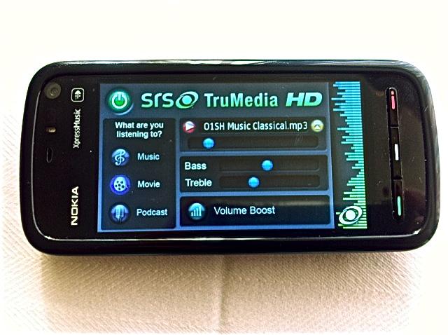 SRS TruMedia HD為行動提供音頻娛樂體驗