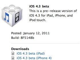 免破解,iOS 4.3 讓 iPhone 4 變成Wi-Fi基地台