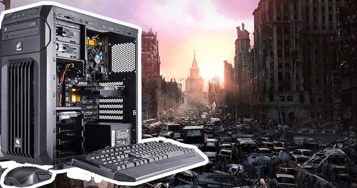搏君一笑:幫助玩家組裝一台能夠撐過末世浩劫的電腦