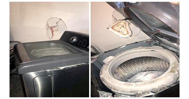 洗衣機也傳出解體爆炸意外,三星在美召回280萬台洗衣機