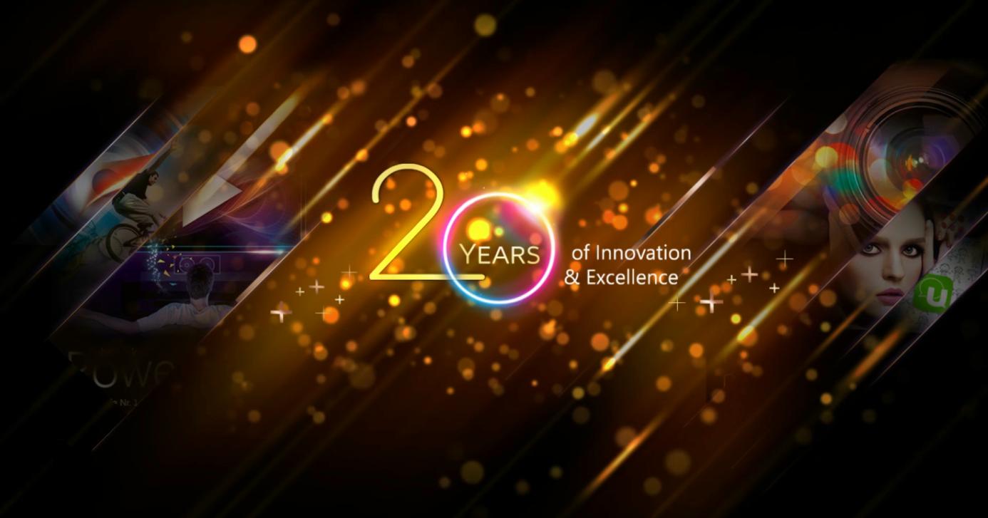 訊連科技歡慶成立20週年,推出軟體限定8折優惠