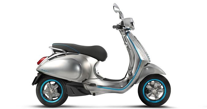 偉士牌也推電動機車,Vespa Elettrica 將在米蘭車展現身