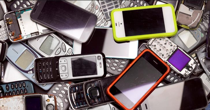全球平板電腦與手機耗用超過30萬噸資源,卻回收不到一半