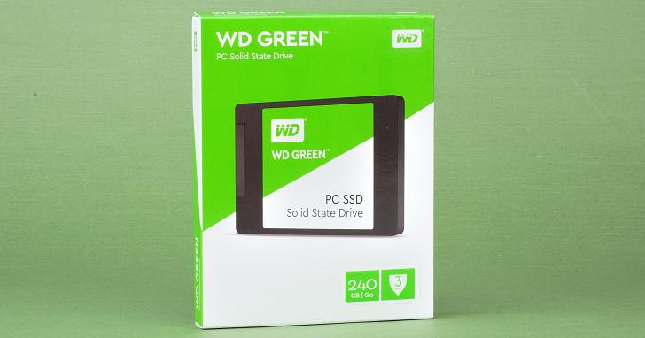 鎖定升級與新組裝入門電腦市場,WD Green SSD 性能評測