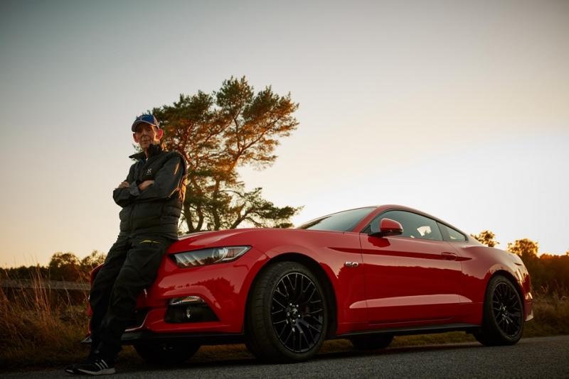 「新野馬」裡頭住著一位「老靈魂」!瑞典一名97歲老翁成為Ford Mustang「最年長車主」!