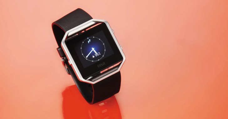Fitbit Blaze- 個人健康與運動管理的智慧手錶