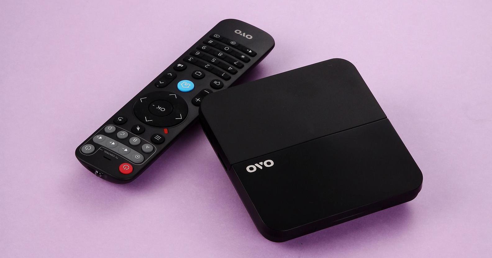 全新OVO B5電視盒支援H.265解碼,創新電視雲管理系統