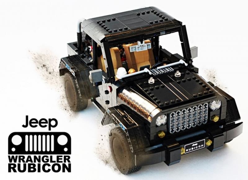 苦等不來台灣?沒關係,讓樂高一圓你的Jeep Wrangler Rubicon夢!