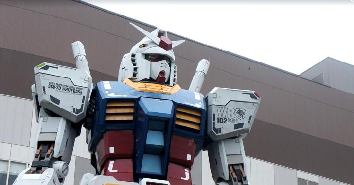 鋼彈迷朝聖得趕快!東京台場初代鋼彈1:1模型將於2017年3月退役