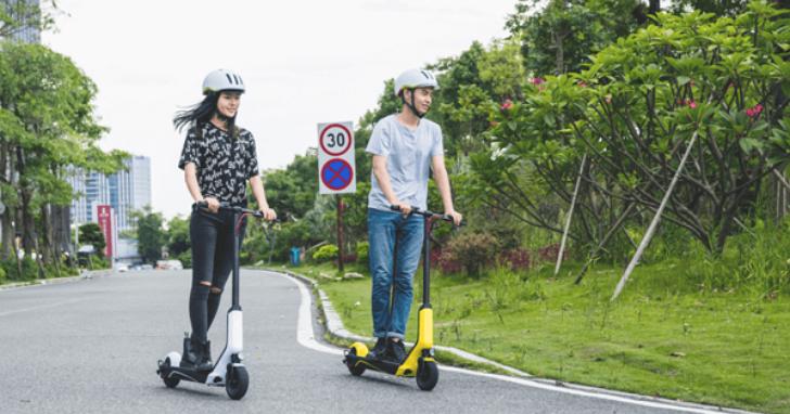小米推出電動滑板車,續航 30 公里車身可摺疊