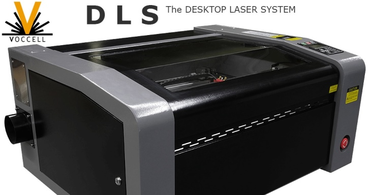 Voccell DLS雷射切割機,能夠切割、烙印多種材料