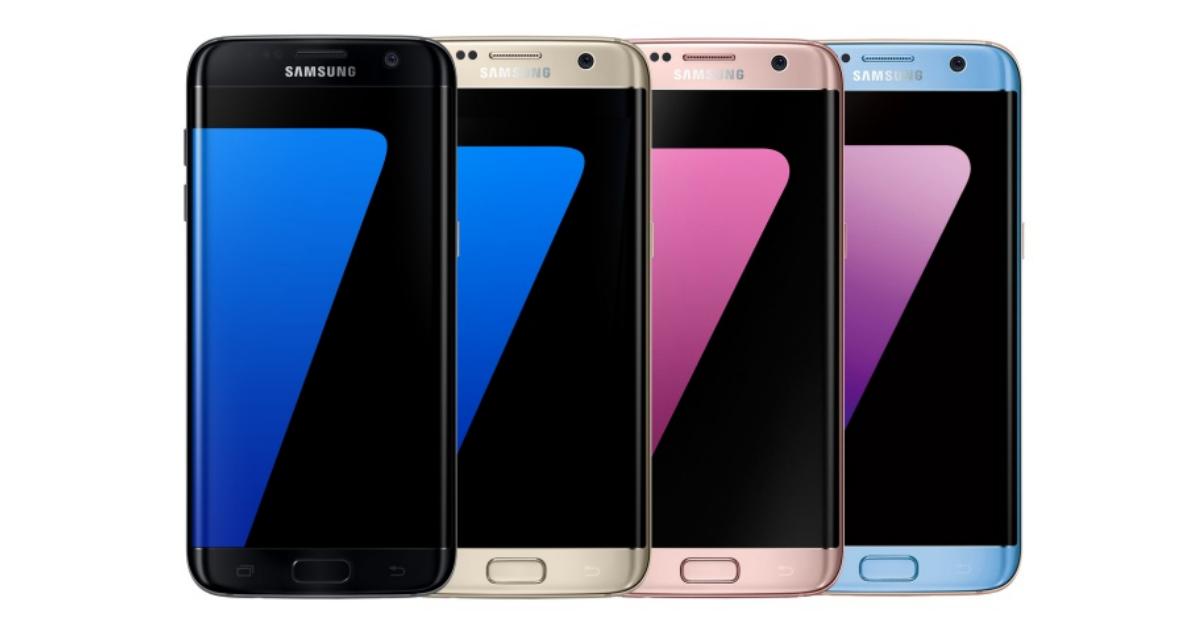 三星也玩曜石黑,Galaxy S7 edge 晶墨黑 12 月底前上市