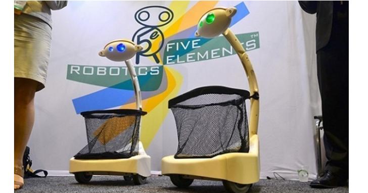 美國推出機器人手推車,未來逛超市手推車會自動跟著你跑