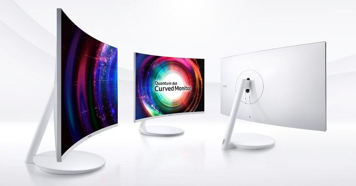 與 LG 一較高下?Samsung 將在 CES 展推出量子點曲面螢幕