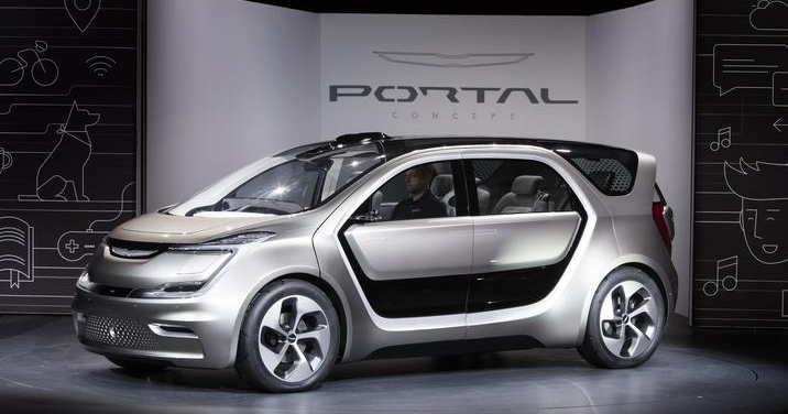 飛雅特克萊斯勒推模組化概念汽車 Portal,可自由擴充車內設備