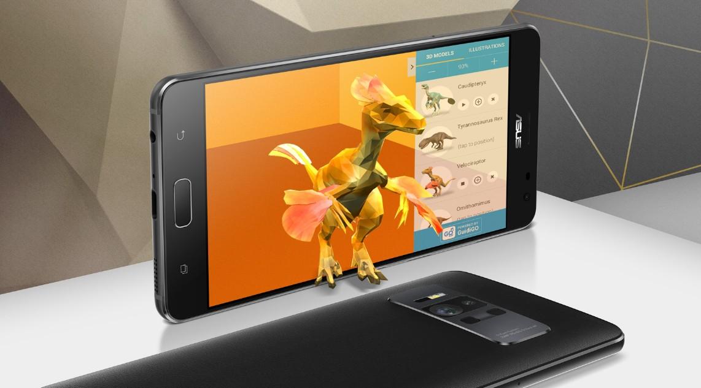 AR與VR雙管齊下!ZenFone AR 手機,支援 Tango AR、Daydream VR、配上8GB RAM