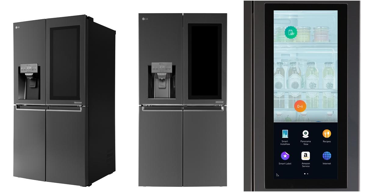 叫冰箱幫忙買菜,LG 推出搭載 Amazon Alexa 語音服務的 Smart Instaview 大冰箱