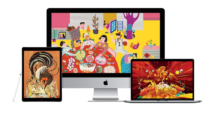 滿滿的年味,Apple 釋出 5 組春節桌布免費下載