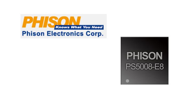 價格導向 PCIe 3.0 x2 NVMe 控制器,Phison PS5008 製品年內上市