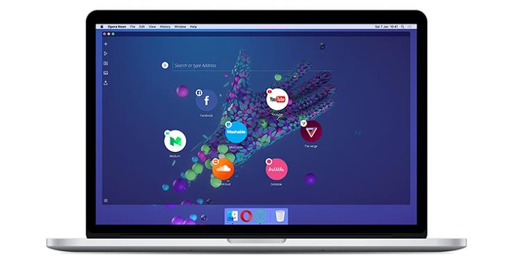 瀏覽器的未來會是什麼樣子?Opera推出代號為「Opera Neon」的概念瀏覽器來解答