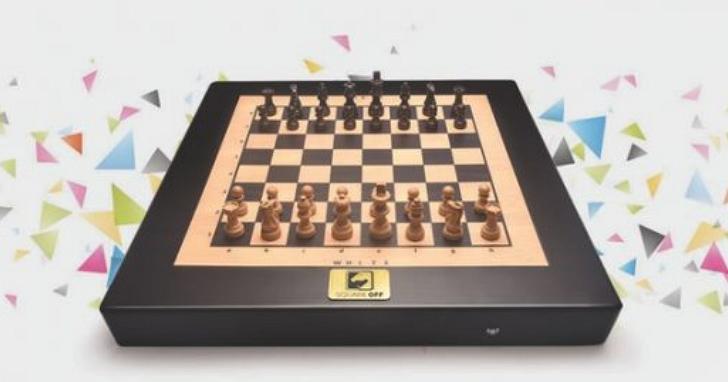 真正會自動下棋的魔法棋盤 Square Off