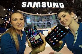 MWC 2011:Samsung 發表 GALAXY S II 革命手機、新平板 GALAXY Tab 10.1