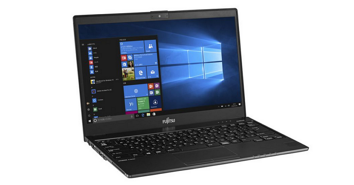 富士通發佈的這款13.3 吋螢幕Kaby Lake 筆電,重量不到 800 克
