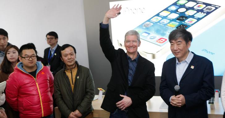 入境隨俗,Apple CEO庫克在微博上拜年說了自己的心聲