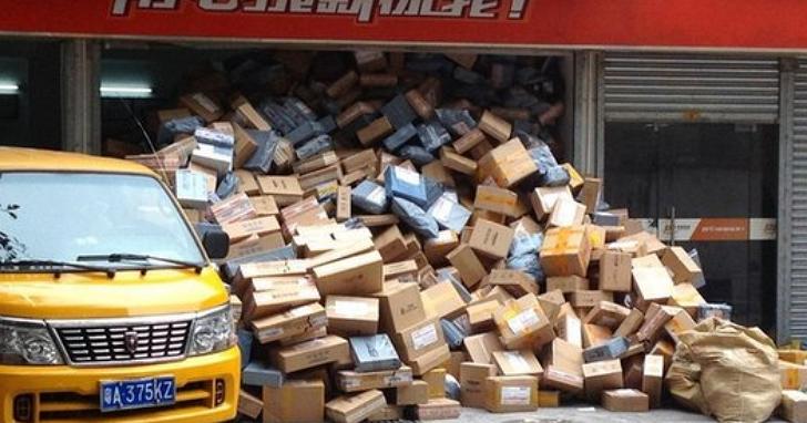淘寶下單半個月貨都還堆在快遞站,誰還敢用這間中國快遞公司發貨?