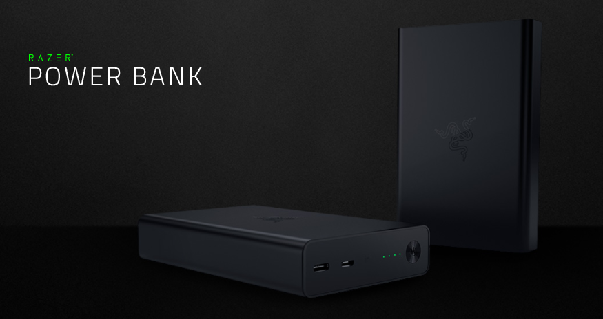 Razer Power Bank:電量達 12,900mAh、支援 QC3.0 快充的筆電用充電器