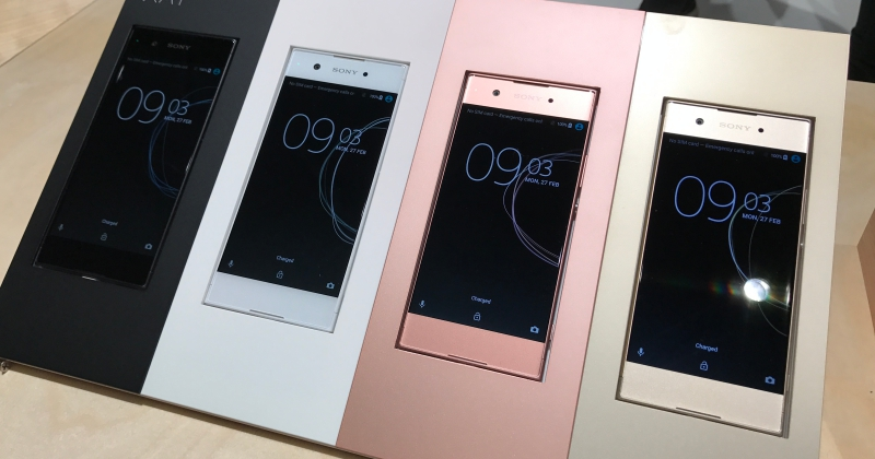 Sony 在 MWC 一口氣推出四款新機,夾著 DRAM 的感光元件也用上了