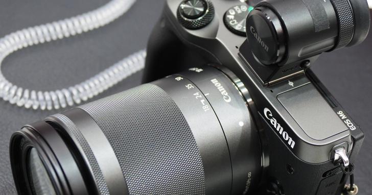 對焦升級、可裝卸電子觀景窗,Canon 新款無反相機 EOS M6 動手玩